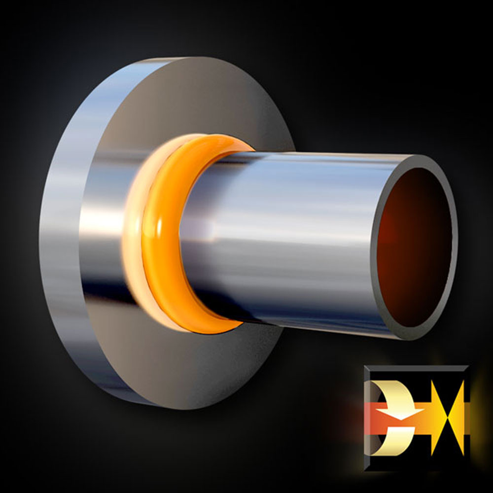 Solid Round to Pipe Welding Image