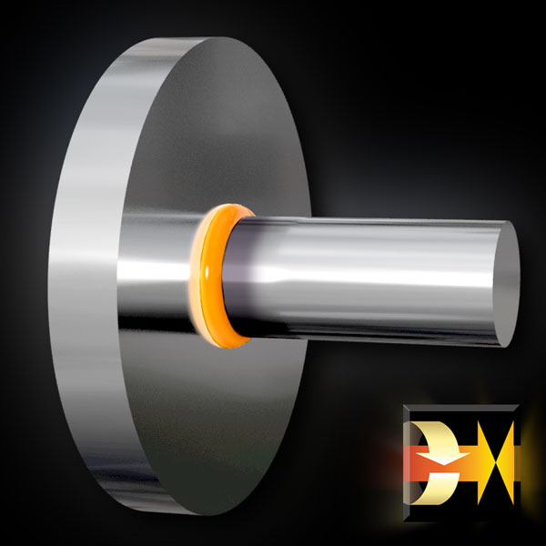 Welded Valve and Disc to Shaft Welding