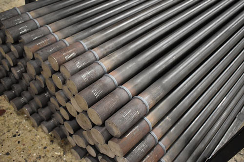 Friction Welded AWJ Drill Pipe