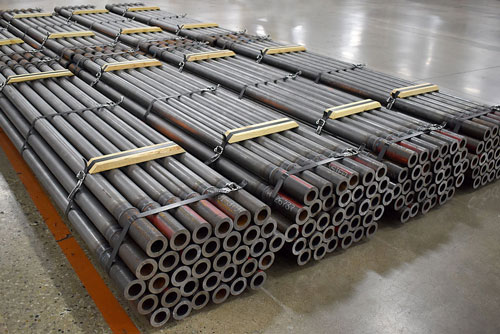 Friction Welded Sonic Drill Pipe
