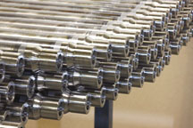 Nickel Alloy to DOM Tube Friction Welded